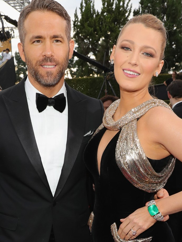 Everybody's favourite couple Blake Lively and Ryan Reynolds looked as chic as ever on the red carpet. Lively's hair was pulled back, with a hint of texture and a subtle smokey eye.