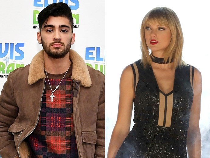 Zayn Malik and Taylor Swift