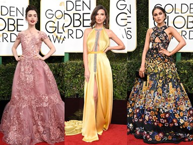 All the hottest looks from the 74th annual Golden Globe Awards