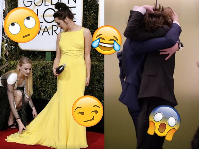 All the important bits from the 2017 Golden Globes