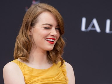 Emma Stone's reaction to ex Andrew Garfield and Ryan Reynolds' kiss is everything