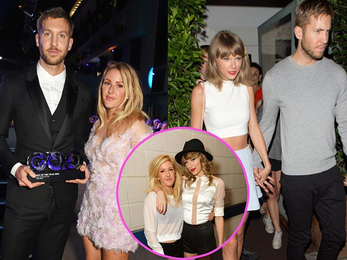 Before Talvin was a thing, Ellie Goulding dated Calvin Harris. Once they finished making sweet, sweet music he moved on with Rita Ora before dating Taylor Swift.