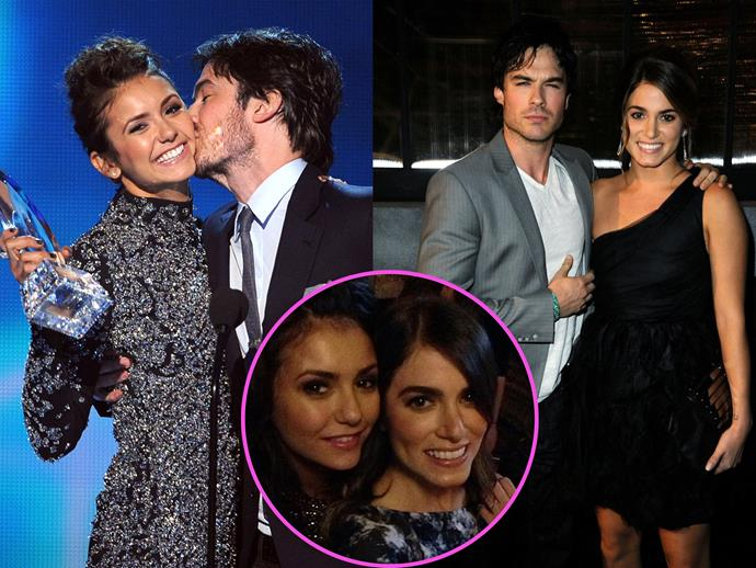 In another instance of vampire-love-gone-wrong, Nikki Reed started dating her friend Nina Dobrev's ex Ian Somerhalder not long after they broke up.