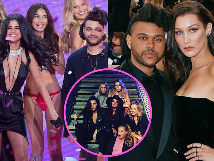 """It's no secret Bella Hadid isn't down with Selena Gomez dating The Weeknd. According to [TMZ](http://www.tmz.com/