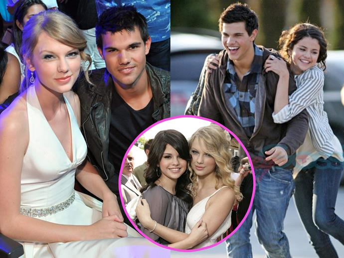 Proving that no guy can ruin their friendship, Taylor Swift seemed pretty chill when Selena Gomez started dating Taylor Lautner in 2009.