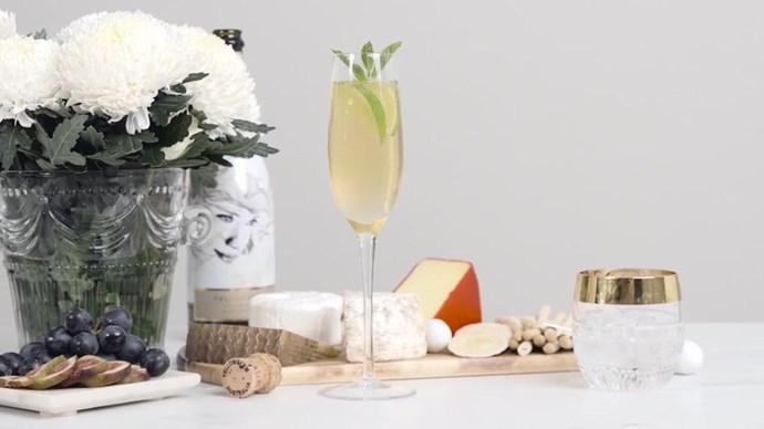 cocktail recipe sparkling wine