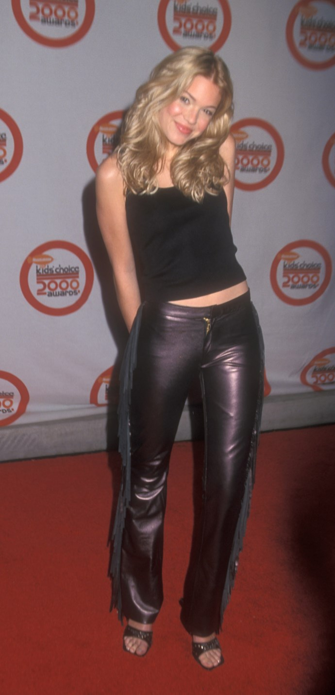 Occasionally Mandy would ~edge~ it up with a splash of leather.