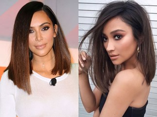 Kim Kardashian and Shay Mitchell