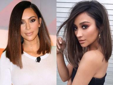 You guys, Kim Kardashian and Shay Mitchell are legit sharing wigs