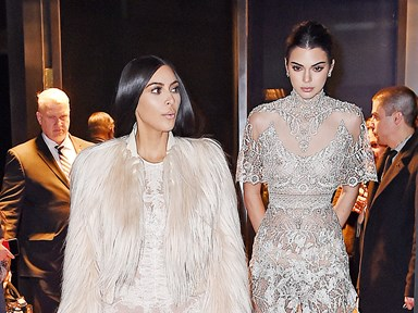 Kim Kardashian and Kendall Jenner spotted filming cameos for Ocean's Eight