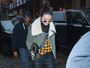 Kendall and her ~rumoured~ BF were spotted on a double-date with Kylie and Tyga
