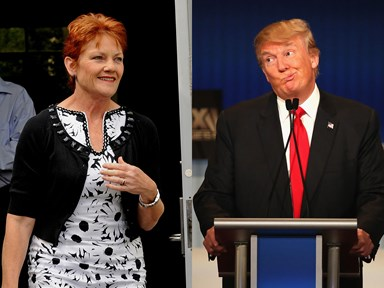 Err, it turns out Pauline Hanson was never officially invited to Trump's inauguration