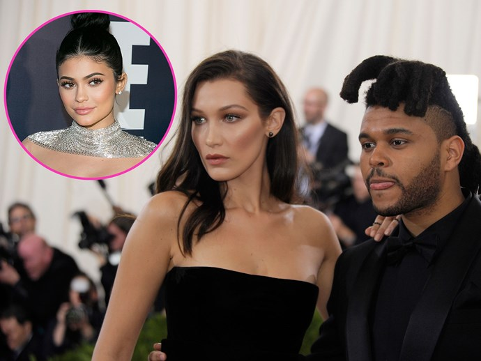 Kylie Jenner gets dinner with The Weeknd