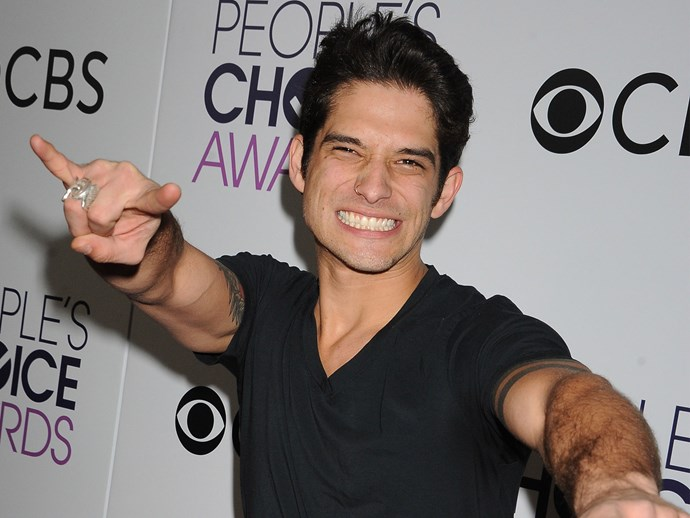 Tyler Posey People's Choice Awards after nude scandal