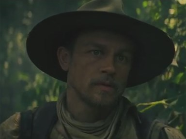 Stop everything and watch the trailer for Charlie Hunnam and Robert Pattinson's new movie