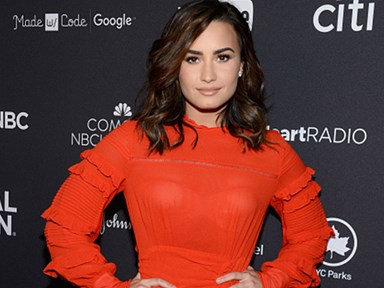 Demi Lovato has made her new relationship Snapchat official