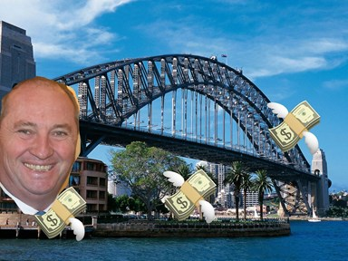 You guys, Barnaby Joyce has the solution to the housing crisis! Hurrah!