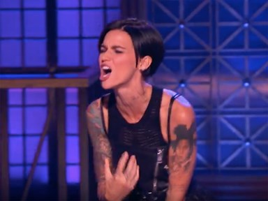 Ruby Rose absolutely crushes it on Lip Sync Battle