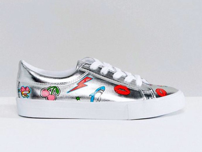 Sneakers, $43, Patchwork at [ASOS](http://rstyle.me/n/cdqm7wvs36)