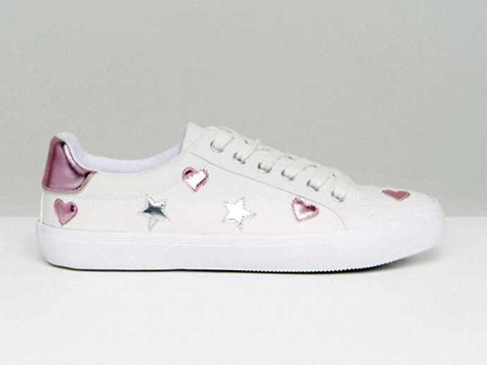 Sneakers, $36, Dea Star at [ASOS](http://rstyle.me/n/cdqpa2vs36).