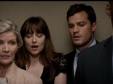 The latest 'Fifty Shades Darker' clip involves a bit of cheeky elevator fingering