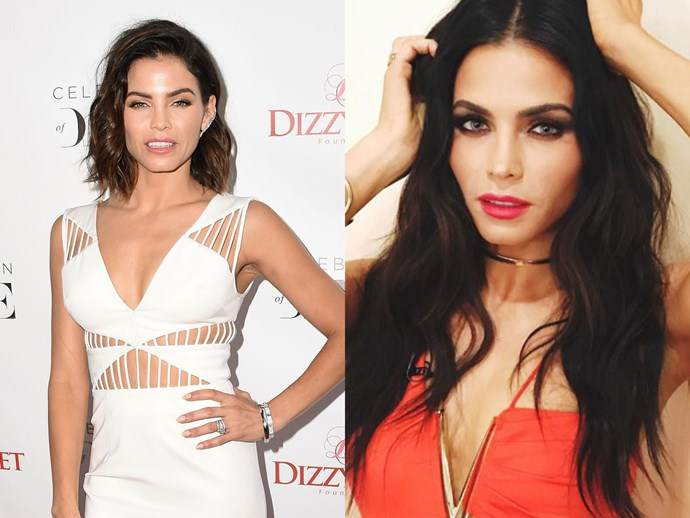 Fact: Jenna Dewan Tatum *always* looks like a million dollars. The *Step Up* actress – and better half of Channing Tatum – added a shitload of hair extensions in her hair recently. We think the mermaid look suits her!