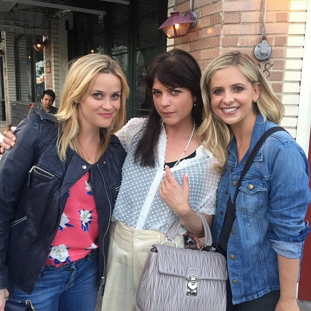 **Cruel Intentions**  Reese Witherspoon, Selma Blair and Sarah Michelle Gellar posed for this amazing snap in 2015.