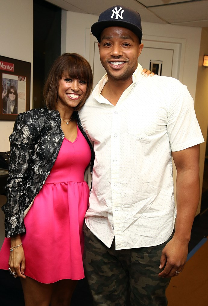 **Clueless**  *Clueless* lovebirds Stacey Dash (Dionne) and Donald Faison (Murray) have not aged.