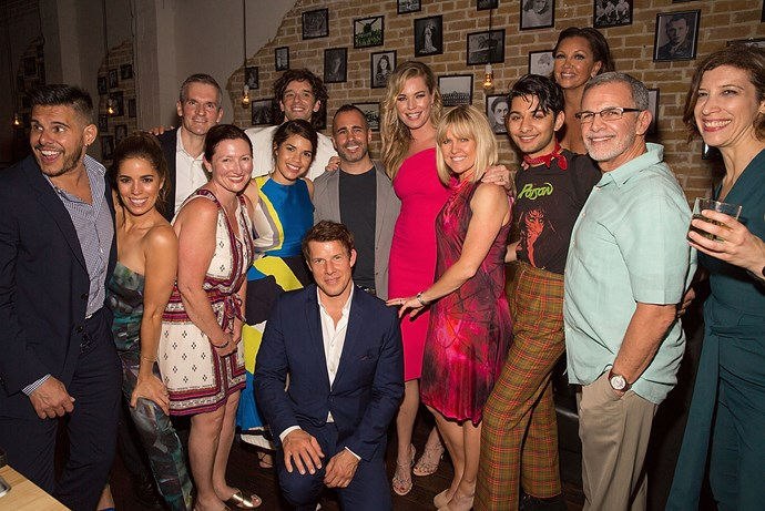 **Ugly Betty**  It ain't easy getting a whole cast together like this, but the cast of *Ugly Betty* made the effort at this event in 2016.