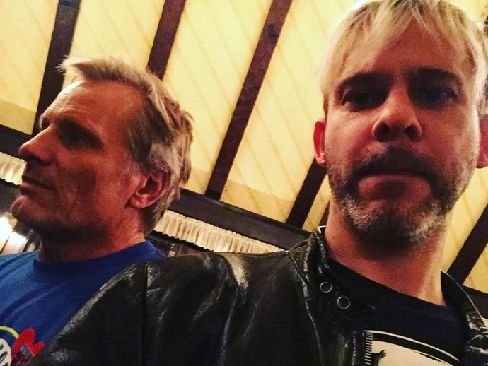 **The Lord of the Rings**  A close-up shot of Viggo and Dominic.