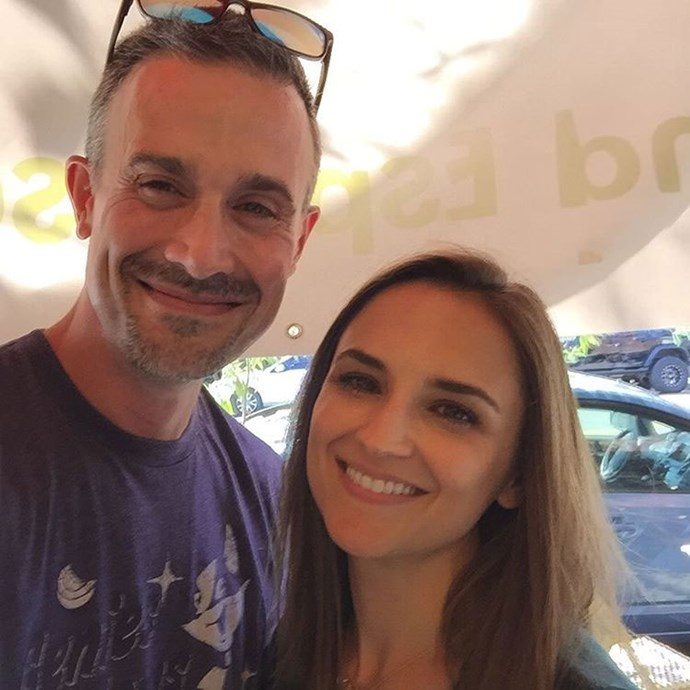 "**She's All That**  Freddie Prinze Jr. caught up with his ""homie"" Rachael Leigh Cook 17 years after their movie came out."