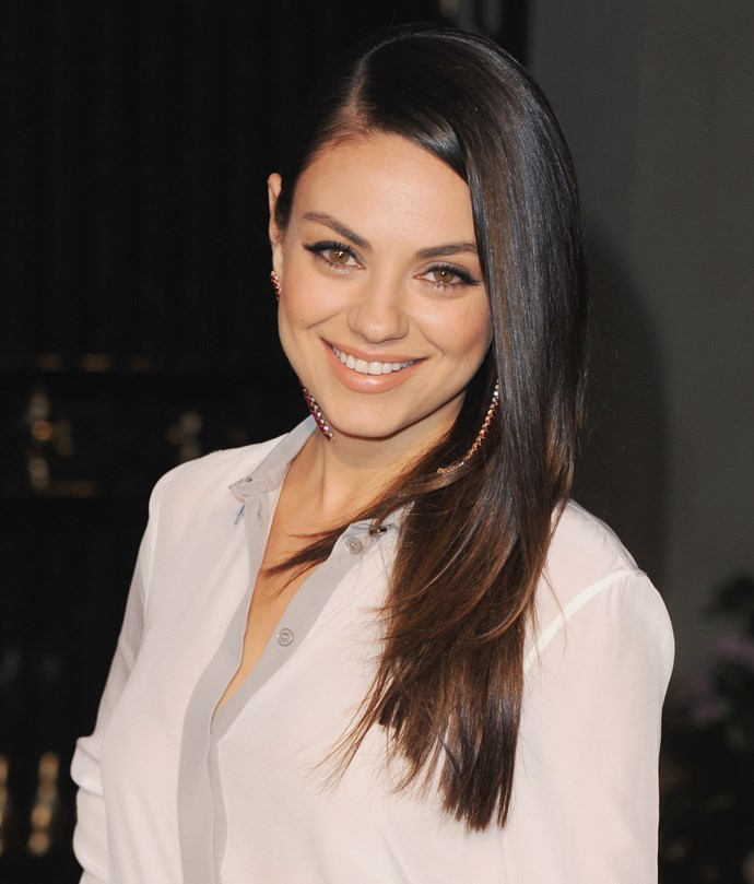 **1. Mila Kunis**   Kunis and her family fled Soviet Ukraine during the cold war, settling in the US instead.