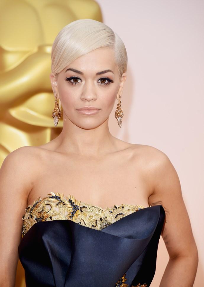 """**2. Rita Ora**   As a toddler, """"I Will Never Let You Down"""" singer Rita Ora fled Kosovo for the U.K."""