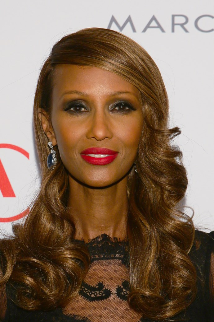 **6. Iman**   Supermodel Iman fled Somalia in 1972, moving to Kenya, where she was then discovered by the fashion world.