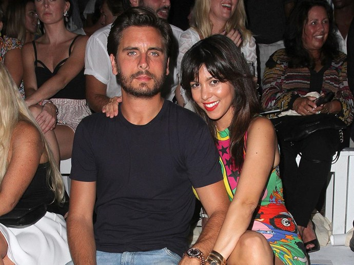 Scott Disick has pool make-out session with model after holiday with Kourtney Kardashian and kids