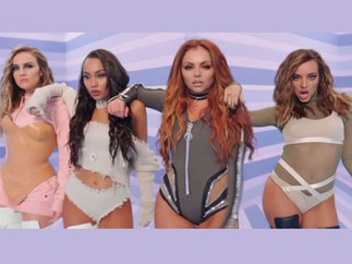Jesy Nelson Photoshopped in 'Touch' Music video