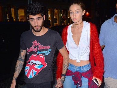 This is Gigi Hadid's idea of a perfect date night