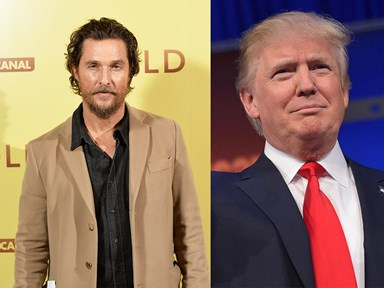 Matthew McConaughey reckons it's time we started to embrace Donald Trump
