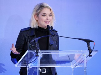 Ashley Benson has joined a very important cause