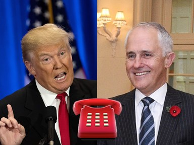 Even celebrities can't deal with Trump's beef with Australia