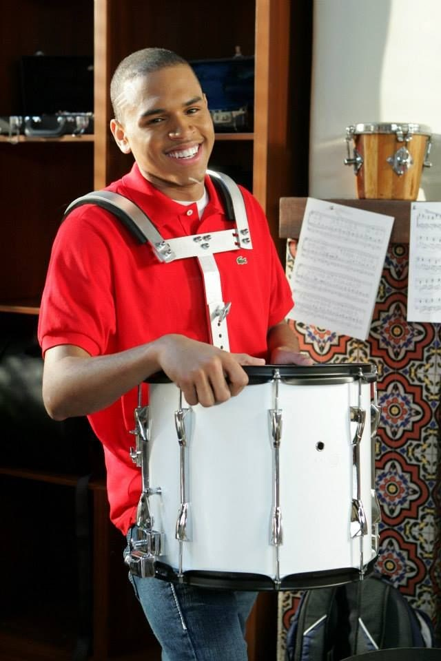 "Chris Brown played ""band geek"" Will Tutt."