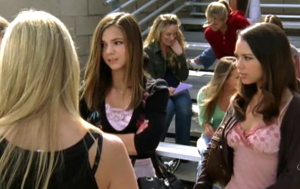 Janelle Parish played Leah, one of Kaitlin Cooper's BFFs.