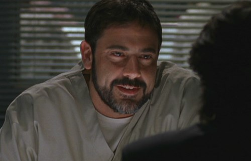 Jeffrey Dean Morgan played inmate Joe Zukowski.