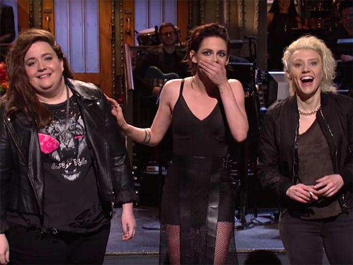 Kristen Stewart on Saturday Night Live