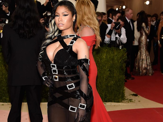 Nicki Minaj Just Called Out A High Fashion Shoe Designer