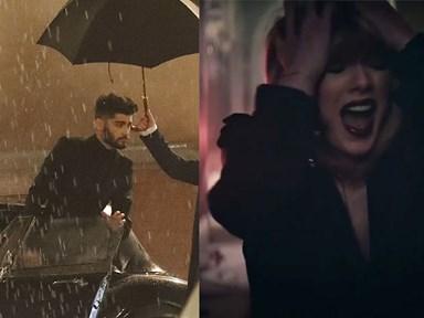 WATCH: Taylor Swift slams Zayn on the 'IDWLF' set