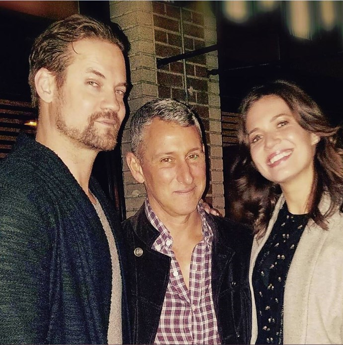 **A Walk To Remember**  To celebrate the film's 15th anniversary, director Adam Shankman got the ol gang back together. After all these years, Mandy Moore (Jamie) and Shane West (Landon) STILL make our hearts ache.