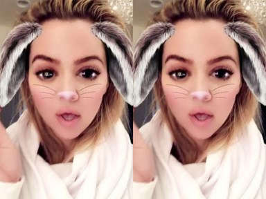 Khloé Kardashian claps back at workout haters with a series of EPIC Snapchats