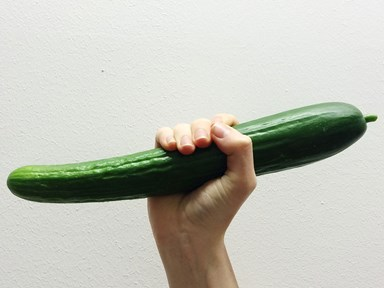 A man used a cucumber as a sex toy and accidentally killed his partner