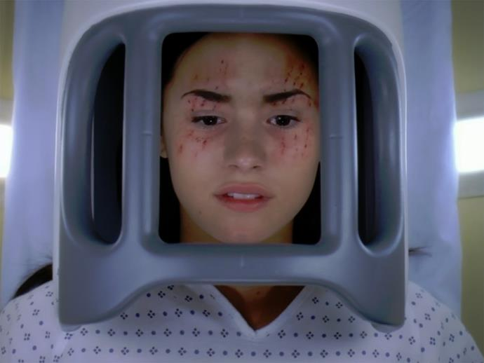**Demi Lovato.** Demi played a teenage girl called Hayley May in season six, who suffered from Superior Canal Dehiscence Syndrome.